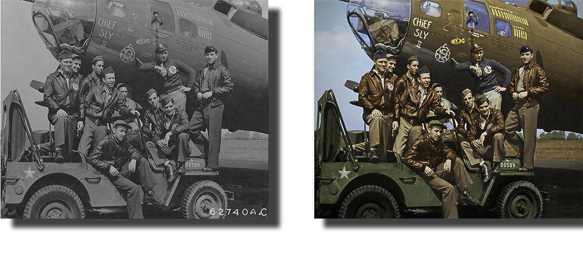 Colorize A Black And White Photo Online